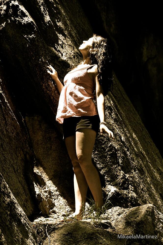 Beaming by MikaelaMartinez