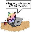 Salt Stocks in Rainbow by Overinkt