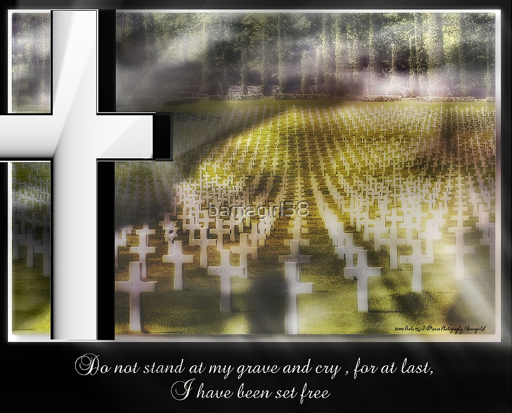 Do Not Stand At My Grave & Cry ............... by bamagirl38
