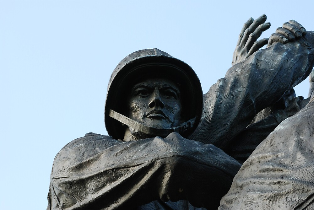 Iwo Jima Memorial by Dusker