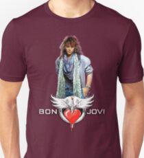 Bon Jovi - Slippery When Wet Unisex T-Shirt