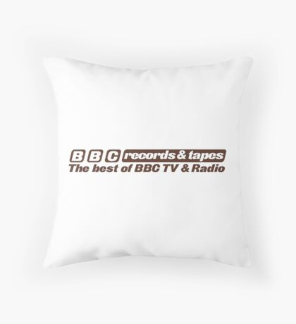 The best of TV and radio Throw Pillow