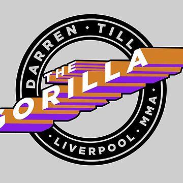 """Darren Till """"The Gorilla"""" Liverpool MMA - Orange/Purple by Undeniable"""