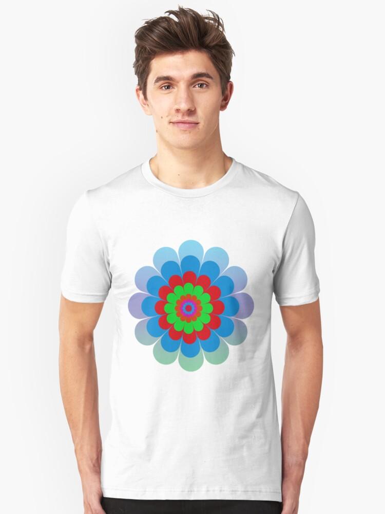Flower Tee Unisex T-Shirt Front