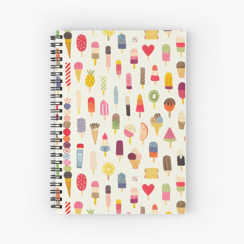 Pop Pop Popsicles! Spiral Notebook
