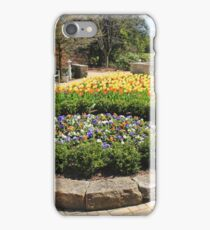 Tulip Time In Mill Creek Park iPhone Case/Skin