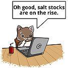 Salt Stocks in Mustache by Overinkt