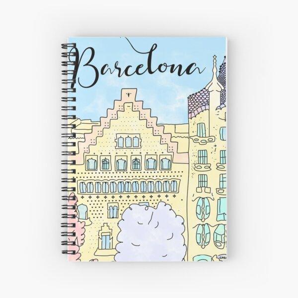 Barcelona mola by Alice Monber Spiral Notebook