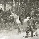 Meeting of Lee and Grant, Appomattox, April 9, 1865. The surrender of general Robert E. Lee by artfromthepast