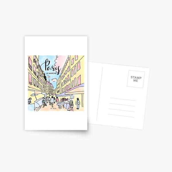 Paris I left by Alice Monber Postcard