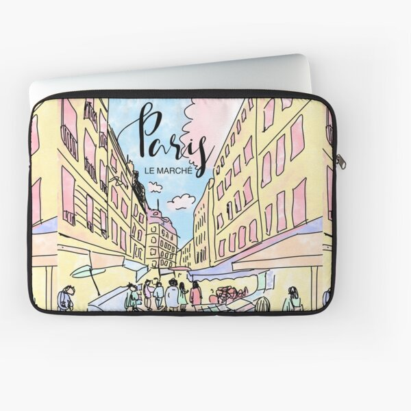 Paris I left by Alice Monber Laptop Sleeve
