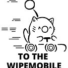 To The Wipemobile Outline by Overinkt