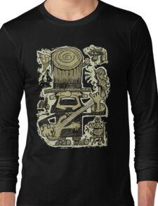 Ye Old Legend Of Rock, Circa 1855 Long Sleeve T-Shirt