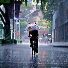 happy umbrella by Danny Santos II