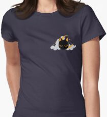 Moon Cat Women's Fitted T-Shirt