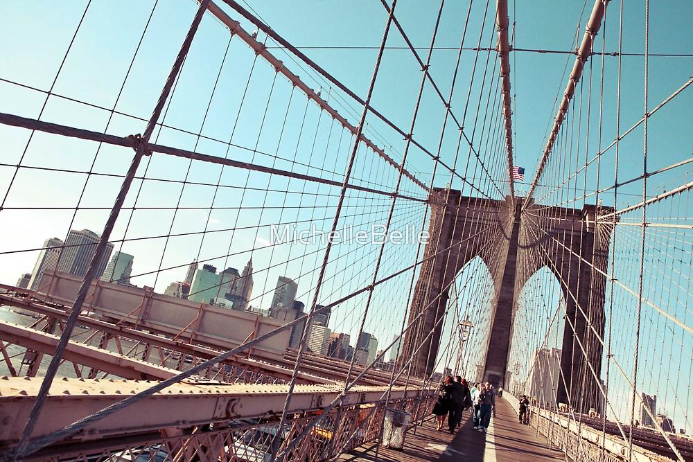 Brooklyn Bridge by MichelleBelle