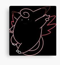 Minimalist Fairy Pokemon - Stage 1 Canvas Print