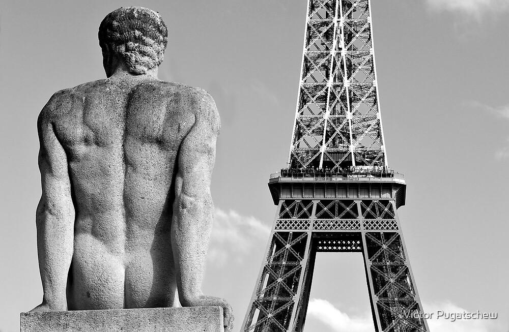 Keeping an Eye on the Eiffel by Victor Pugatschew