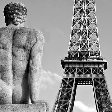 Keeping an Eye on the Eiffel by vicpug