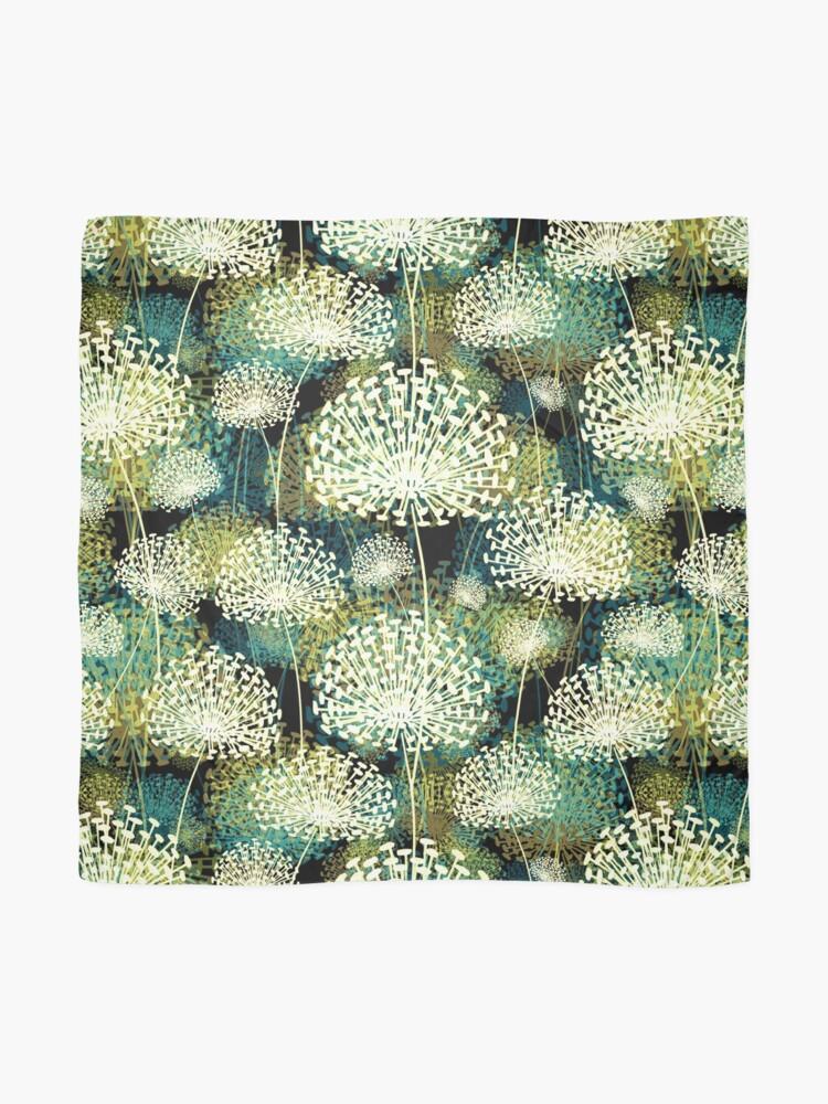 Alternate view of Dandelions Scarf