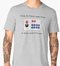 Gamer - Thousand Lives - Version 1 Men's Premium T-Shirt