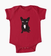 Brindle Frenchie needs some love and attention One Piece - Short Sleeve