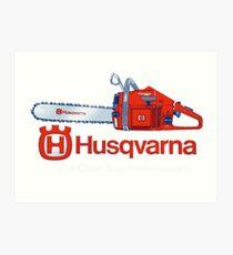 Husqvarna Chainsaws Art Print