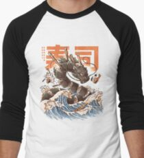 Great Sushi Dragon  Baseball ¾ Sleeve T-Shirt