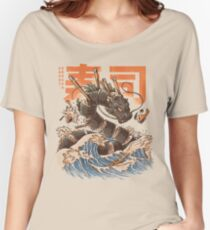 Great Sushi Dragon  Relaxed Fit T-Shirt