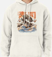 Great Sushi Dragon  Pullover Hoodie
