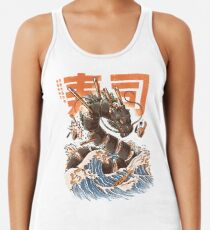 Great Sushi Dragon  Racerback Tank Top