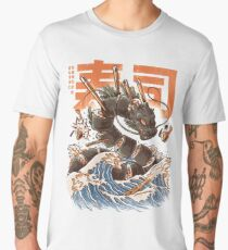 Great Sushi Dragon  Men's Premium T-Shirt