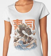 Great Sushi Dragon  Women's Premium T-Shirt