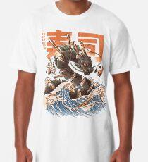 Great Sushi Dragon  Long T-Shirt