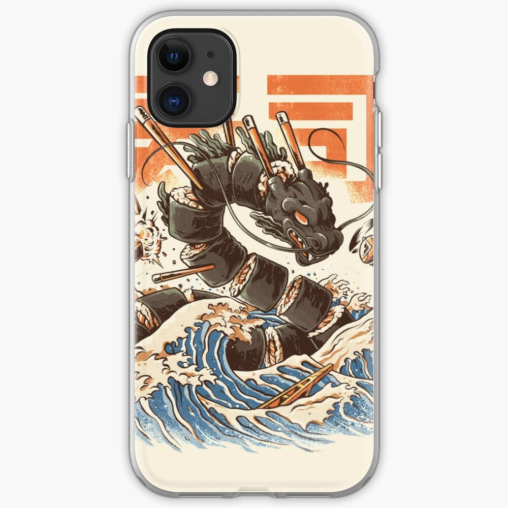 Great Sushi Dragon  iPhone Case & Cover