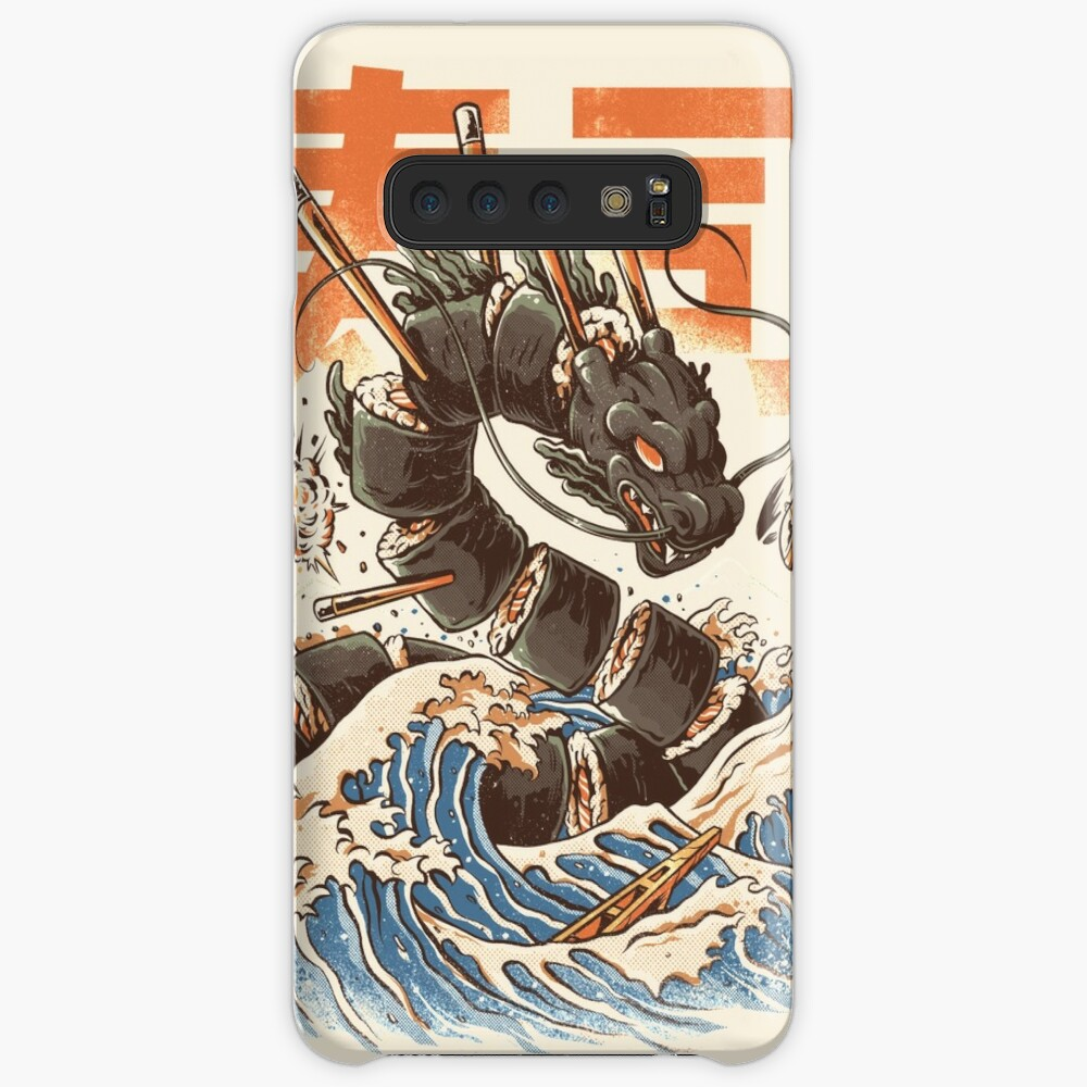 Great Sushi Dragon  Cases & Skins for Samsung Galaxy