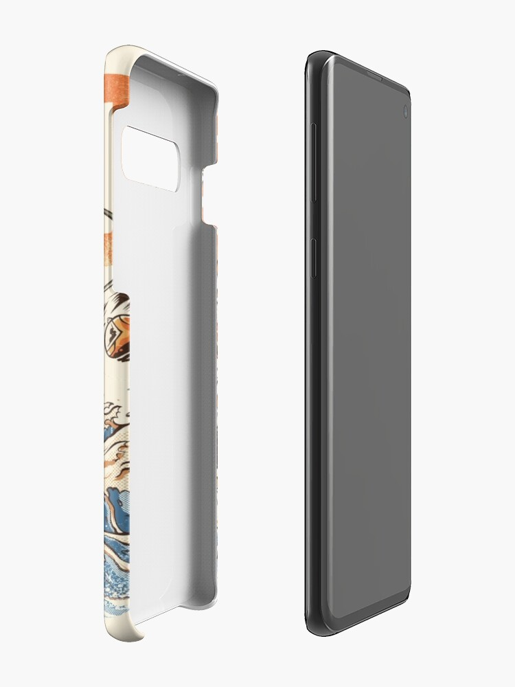 Alternate view of Great Sushi Dragon  Cases & Skins for Samsung Galaxy