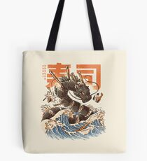 Great Sushi Dragon  Tote Bag