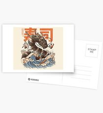 Great Sushi Dragon  Postcards