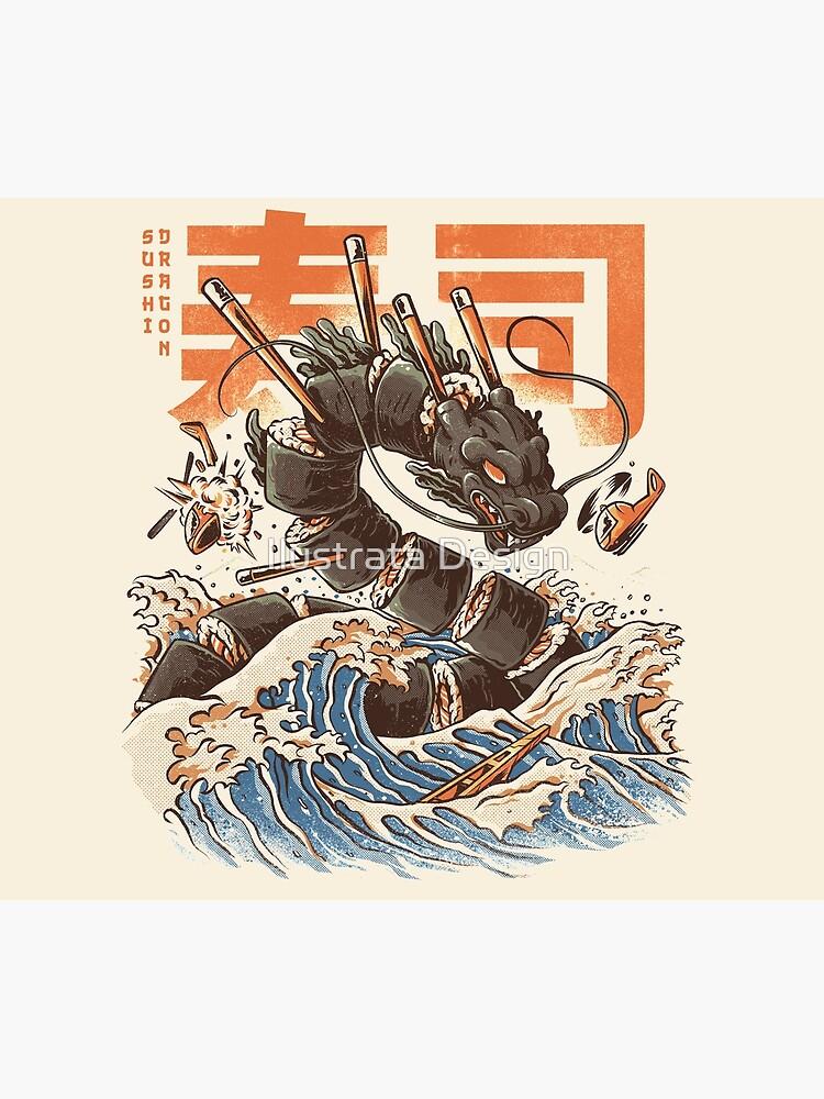 Großer Sushi-Drache von ilustrata