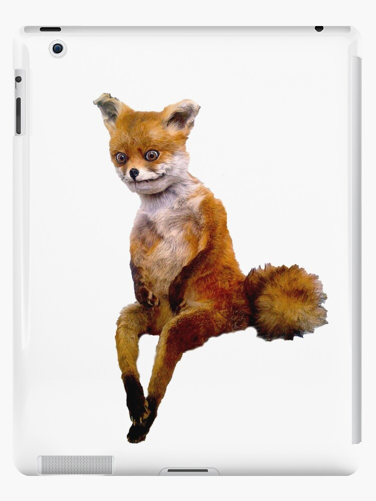 Quot Stoned Fox The Taxidermy Fox Meme Quot Ipad Cases Amp Skins By