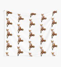Stoned Fuchs der Taxidermy Fox Meme Wandbehang