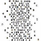 Black Mosaic by -Patternation-