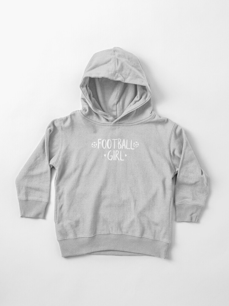 Football Girl | Toddler Pullover Hoodie