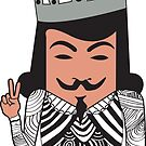 Anonymous Courtier by Nosoy Tees