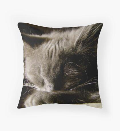 The Lion Sleeps Tonight Throw Pillow