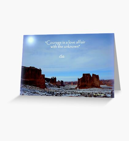 MOAB Magnificence Greeting Card