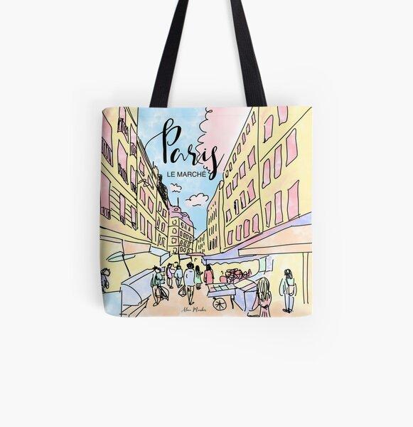 Paris I left by Alice Monber All Over Print Tote Bag