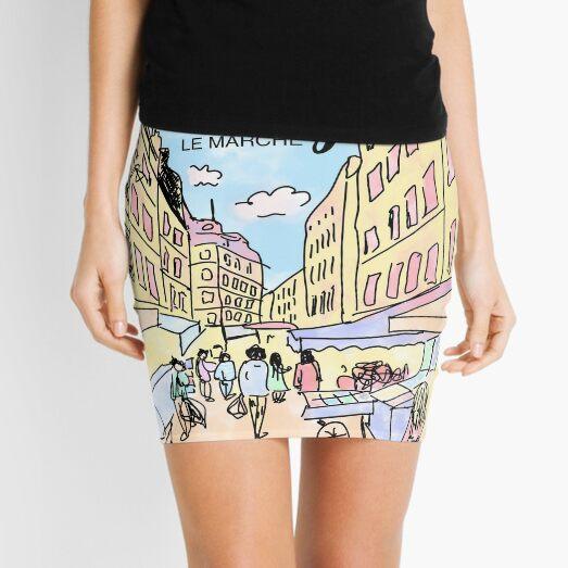 Paris I left by Alice Monber Mini Skirt