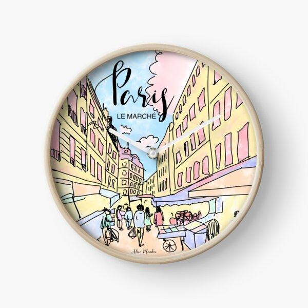 Paris I left by Alice Monber Clock